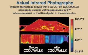 Tex-cote Coolwall energy savings with San Diego painting contractors