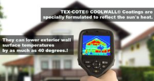Tex-cote coolwall energy savings