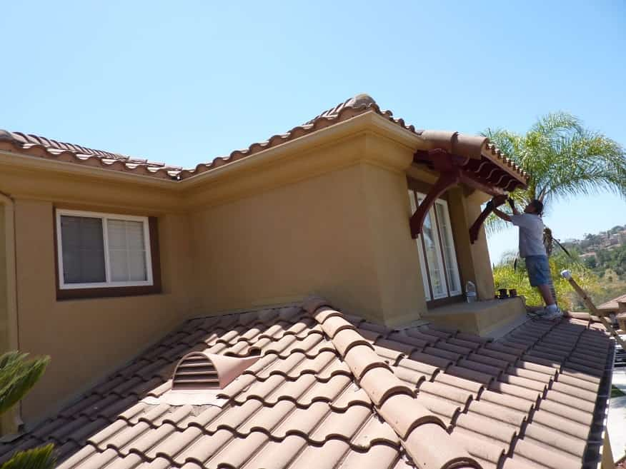 Professional exterior house painting